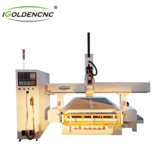 ATC cnc router engraving machine with rotary shaft
