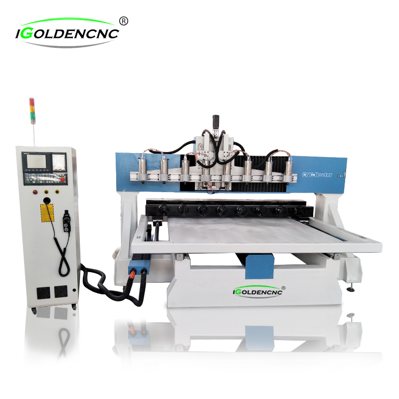 4 Axis Multi -head Cnc Router