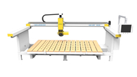 bridge saw type stone cutting machine