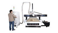 Multifunctional Atc Wood Cnc Router Machine
