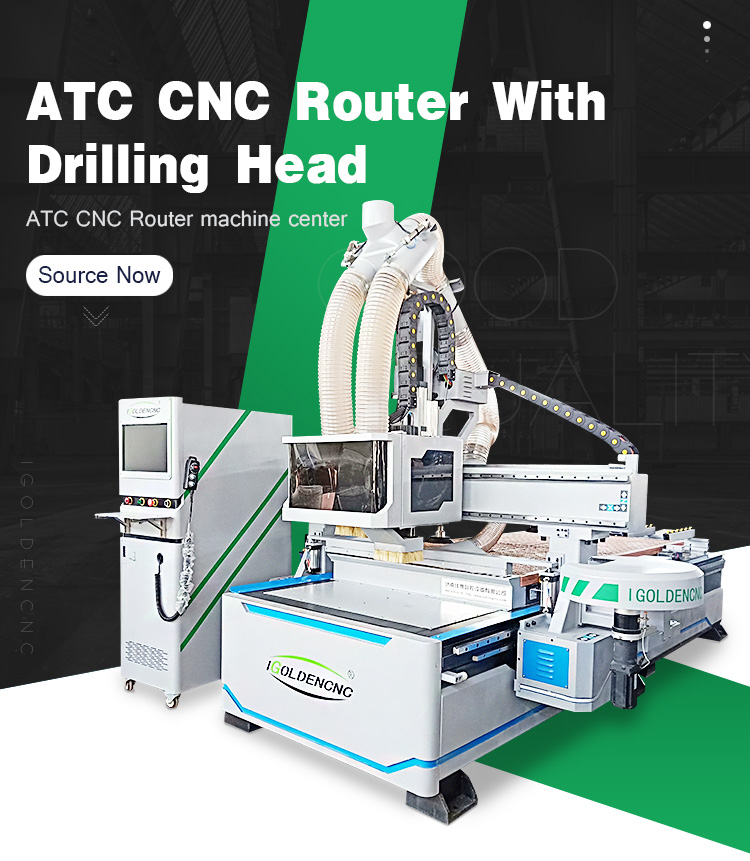 ATC cnc router Woodworking Cutting Machine - iGolden CNC